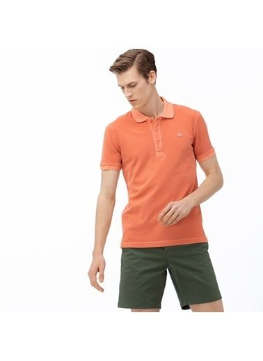 Lacoste Erkek Slim Fit Tişört PH0037.5MM Pembe